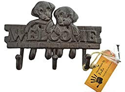 Lulu Decor, Cast Iron Cute Puppy Key Holder