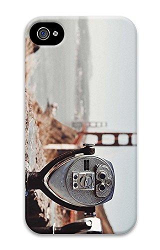 Iphone 4 Case Cool Unique Iphone 4S Cases Personalized Design Tourist Binocular 3D Cases