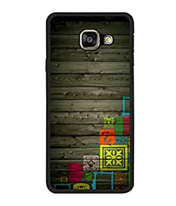 printtech Funky Wooden Patterns Back Case Cover for Samsung Galaxy A3 (2016) :: Samsung Galaxy A3 (2016) Duos with dual-SIM card slots