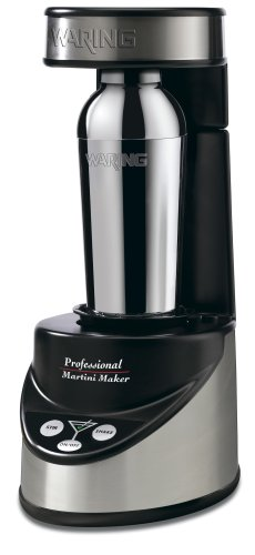 Waring Pro Professional Electric Martini Maker, Black/Chrome