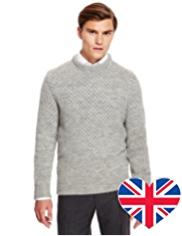 Best of British Pure Wool Fair Isle Knitted Jumper