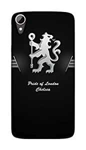 Chelsea Football Club Design - HTC Desire 828 Mobile Hard Case Back Cover - Printed Designer Cover for HTC Desire 828 - HTCD828CFCB17