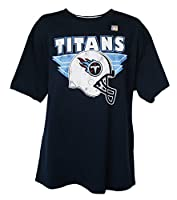 NFL Men's Helmet Logo T-Shirt by G-III, Tennessee Titans, Large by SportsLine Distributors