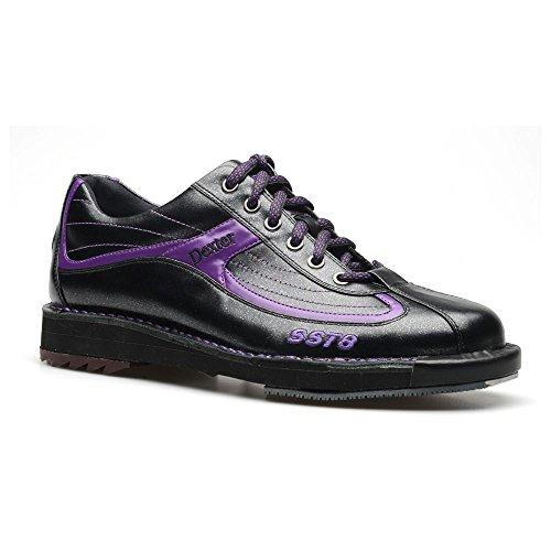 Dexter Mens SST 8 LE Black/Purple Bowling Shoes