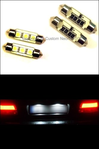 CANBUS LED XENON WHITE NUMBER PLATE BULBS BMW E90 E60