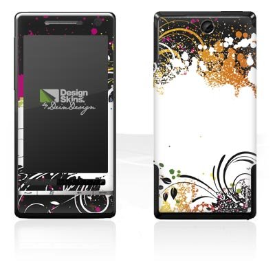 Design Skins für O2 XDA Diamond 2 - Colour Splash Design Folie