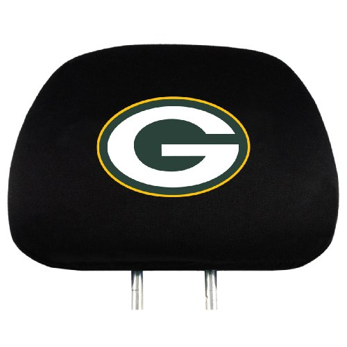 Team ProMark Green Bay Packers Head Rest Covers
