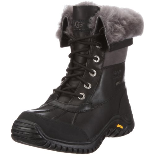 UGG Adirondack Boot II 1906, Women's Boots - Black/Grey, 40 EU