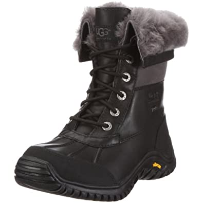 UGG Australia Women's Adirondack Boot II,Black/Grey,US 6.5 M