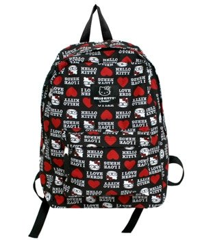 Hello Kitty I Love Nerds Canvas Backpack