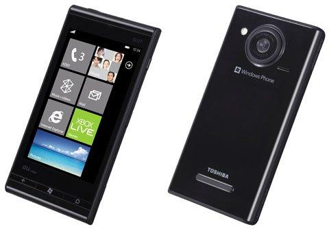 au Windows Phone 7 IS12T ブラック 新品未使用白ロム