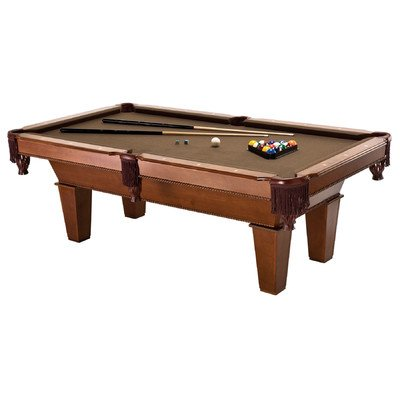 Find Bargain 7' FRISCO BILLIARD TABLE W/PLAY PACK.