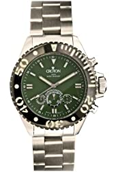 Mens Croton Steel Chronomaster 24 Hr Watch CC311240SSGR