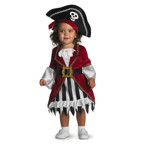 Disguise Infant Costume Pirate Princess, 12-18 Months image
