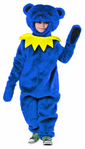 [Rasta Imposta Grateful Dead Dancing Bear Costume, Blue, 3-4T] (Bear Head Costume Amazon)