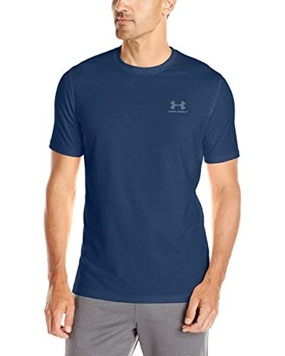 Under Armour Camiseta Manga Corta Cc Left Chest Lockup Azul Petróleo