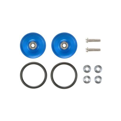 ミニ四駆限定シリーズ 17mm アルミベアリングローラー (ディッシュタイプ) (ブルー) (限定) 94849