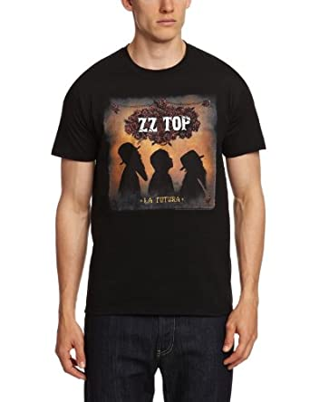 Bravado ZZ Top - La Futura Men's T-Shirt Black X-Large