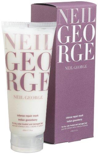 Neil George Intense Repair Mask, Indian Gooseberry Formula, 7.3-Ounce Tube