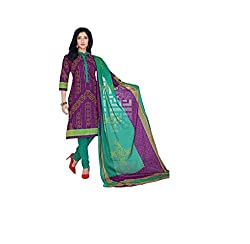 Flick Women's Unstitched Suit (FI-05_Multi_Free Size)