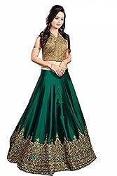 Vaankosh Fashion Womens Cotton Silk Lehenga Choli (vf-meenaxi_Free Size_green)