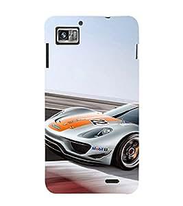 EPICCASE race car Mobile Back Case Cover For Lenovo K860 (Designer Case)