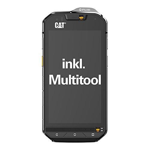Cat S60Outdoor Smartphone (11,9cm (4,7pollici), fotocamera FLIR wärmebild- integrata, Dual-SIM, 13megapixel, memoria 32GB, 3GB RAM, Android Marshmallow) Nero