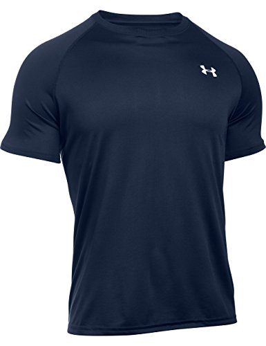 under-armour-tech-t-shirt-manches-courtes-homme-midnight-navy-fr-m-taille-fabricant-md
