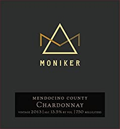 2013 Moniker Mendocino County Chardonnay 750 ml Wine