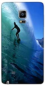 Snoogg Surfer Style 2 Designer Protective Back Case Cover For Samsung Galaxy ...