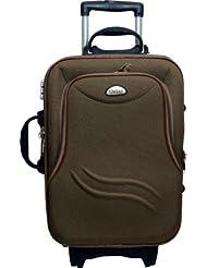 United Bag UTB022 TTone Long Pkt Expandable Travel Bag - Small (Brown)