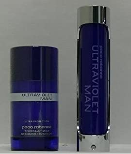 Ultravoilet Gift Set 2 Pieces (3.4 Fl. oz. Eau De Toilette Spray + Deo Stick) Men