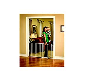 Amazon Com Regalo Maxi 59 Inch Super Wide Walk Thru Gate