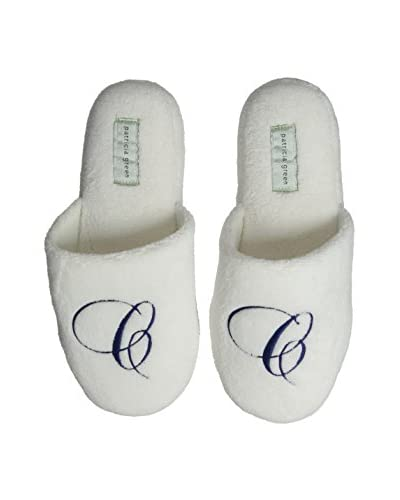 Patricia Green Women's Cozy Monogram C Slipper