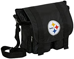 nfl pittsburgh steelers diaper bag messenger bags sports outdoors. Black Bedroom Furniture Sets. Home Design Ideas