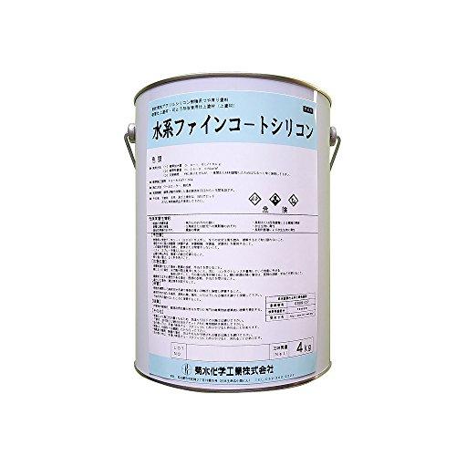 菊水化学工業 水系ファインコートシリコン KN004C  4kg