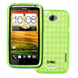 EMPIRE Nokia 808 PureView Poly Skin Case Cover (Neon Green Diamonds) [EMPIRE Packaging]