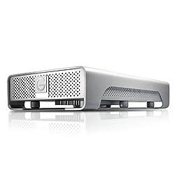 HGST G-technology G DRIVE Mobile 2TB USB 3.0 External Hard Drive 0G02529, White