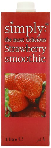 Simply Strawberry Smoothie 1 L (Pack of 2)