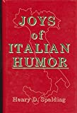 img - for Joys of Italian Humor and Folklore: From Ancient Rome to Modern America book / textbook / text book