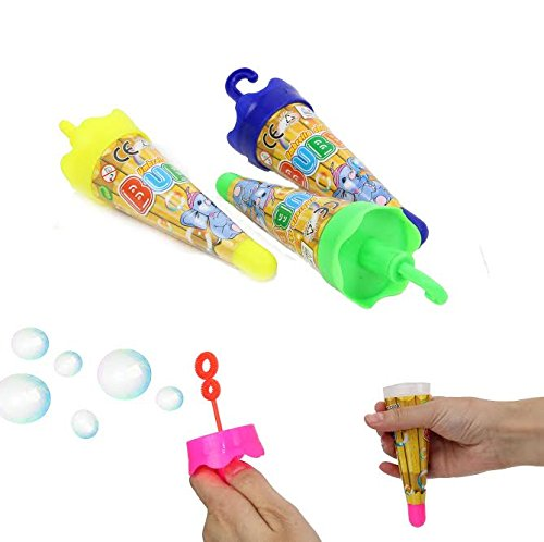 Dazzling Toys Umbrella Shaped Bubbles Contains Bubble Solution 4 Pack