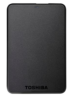 Toshiba HDTB105EK3AA STOR.E Basics 500GB 2.5 inch External Hard Drive - Black_Parent