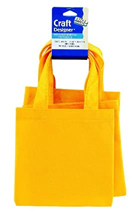 WeGlow International Miniature Tote Bags - Pack Of 12, Yellow at Sears.com