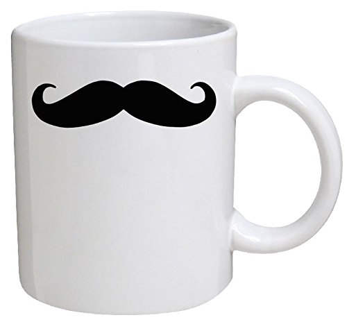 Funny Mug - Moustache, Mustache - 11 OZ Coffee Mugs - Funny Inspirational and sarcasm - By A Mug To Keep TM (Mustache Cup compare prices)