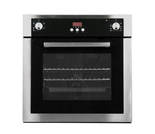 Fagor 6HA-196BX Convection Wall Oven with Knob/Push Button Controls and 4 Cooking Programs, 24-Inch