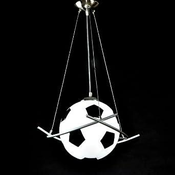 Cartoon football pendent lights creative children 39 s room for Boys bedroom light fixtures