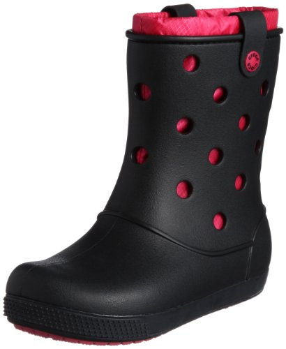 Crocs Women's Crocband Arc Lined Boot Black/Raspberry Ankle Boots 14645-01L-500 8 UK, 42 EU, 10 US