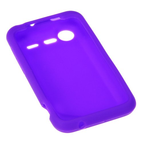 Click to buy GTMax Soft Rubber Silicone Skin Protector Cover Case - Purple for Verizon HTC Droid Incredible 2 6350 - From only $69.99