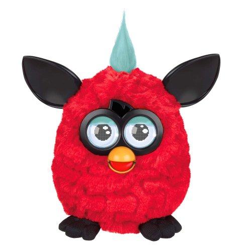 Furby Plush, Red/Black