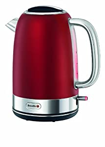 Breville Opula Stainless Steel Jug Kettle, Candy Red